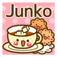 "Use the stickers everyday ""Junko"""
