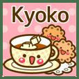 "Use the stickers everyday ""Kyoko"""