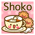 "Use the stickers everyday ""Shoko"""