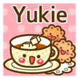 "Use the stickers everyday ""Yukie"""