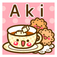 "Use the stickers everyday ""Aki"""