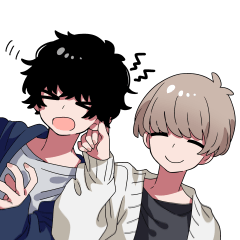 Mash and tempered boys Sticker Part 2