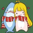 鯊魚AND妹