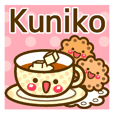 "Use the stickers everyday ""Kuniko"""
