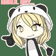 Dudut Kawaii panda 3