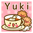 "Use the stickers everyday ""Yuki"""