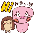 Coco Pig 2-Name stickers - Wei