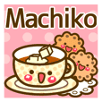 "Use the stickers everyday ""Machiko"""