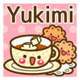 "Use the stickers everyday ""Yukimi"""