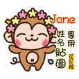 Twopebaby flower monkey 51 Jane
