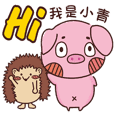 Coco Pig 2-Name stickers -Ching
