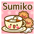 "Use the stickers everyday ""Sumiko"""