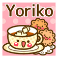 "Use the stickers everyday ""Yoriko"""