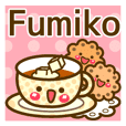 "Use the stickers everyday ""Fumiko"""