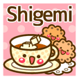 """Use the stickers everyday """"Shigemi"""""""