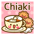 """Use the stickers everyday """"Chiaki"""""""