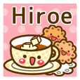 "Use the stickers everyday ""Hiroe"""