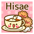 """Use the stickers everyday """"Hisae"""""""