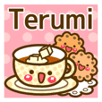 "Use the stickers everyday ""Terumi"""