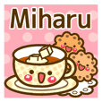 "Use the stickers everyday ""Miharu"""