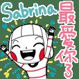 Sabrina's sticker