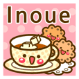 "Use the stickers everyday ""Inoue"""