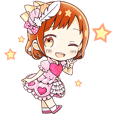Chiroru Hoshino Official Sticker