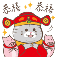 Chinese New Year-Cat