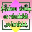 text muslim animasi