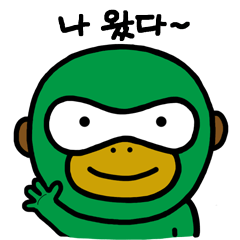 Oh-Meng: Cute Monkey(Korean)