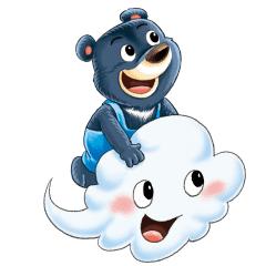 跟著臺灣黑熊Billy一起到世界各地去探險