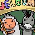 艾克利西亞之小驢駒與咩咩羊