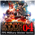 FPS Military Sticker SYACHIKU.ver04