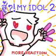 Hang in there!! my idol 2: More reaction