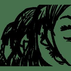 A Sketch Of A Cartoon Line Stickers Line Store