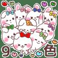 9colors love love rabbit 7(tw)