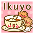 "Use the stickers everyday ""Ikuyo"""