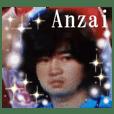Shinichi Anzai Sticker