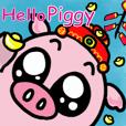 Hello Piggy!Happy New Year