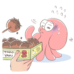 Tako the Pink Octopus