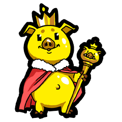 Goledn pig Lala