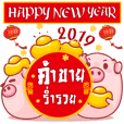 Chinese New Year2019 with Piggy