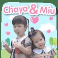 LITTLE CHAYA & LITTLE MIU