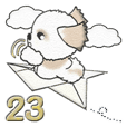 Shih Tzu dog (No character) vol.23