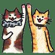 毛迷圈圈事務所-事務所的貓咪 小悟與丸子篇