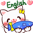 Cute cat couple -English-
