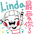 Linda's sticker