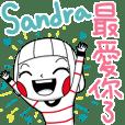 Sandra's sticker