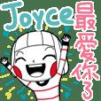 Joyce's sticker