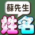 051Mr. Su-big name sticker